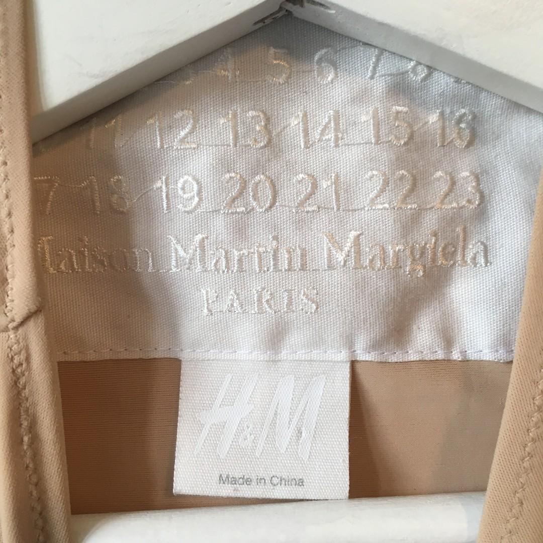 HM H&M H and M x Margiela Bra Shirt size 2 (equivalent to XXS)