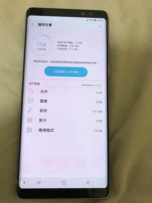 Hold***Samsung Note8 行貨雙卡 HK Original Dual sim