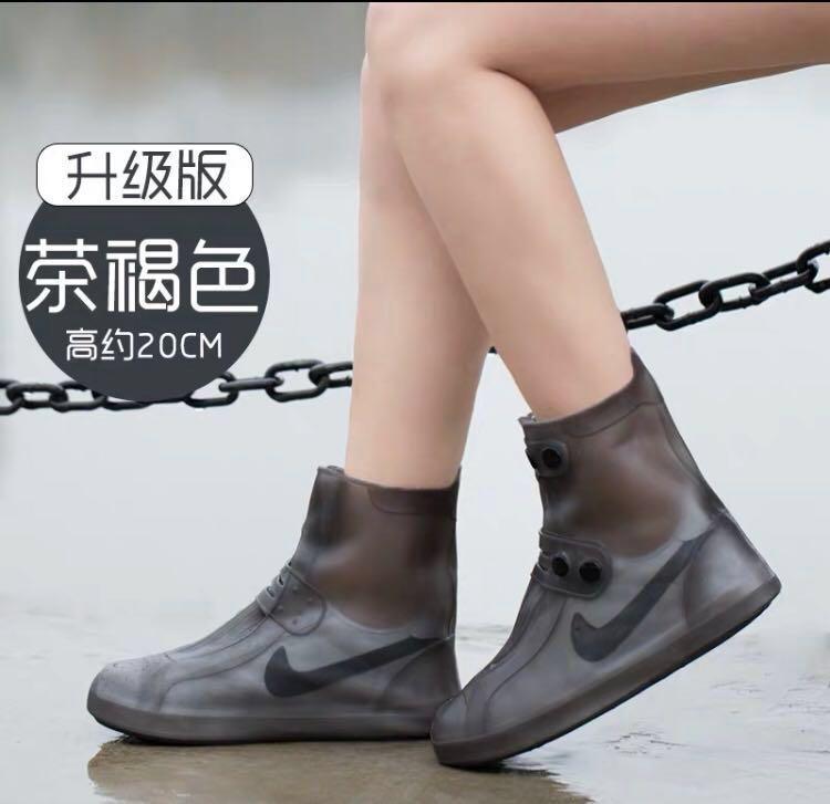 (HOT)熱賣推介。韓國潮流,防水鞋套,男女岩用!