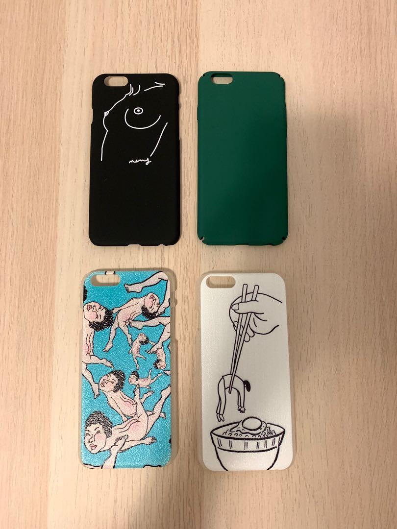 Illustrated iPhone 6/6s/7 phone case