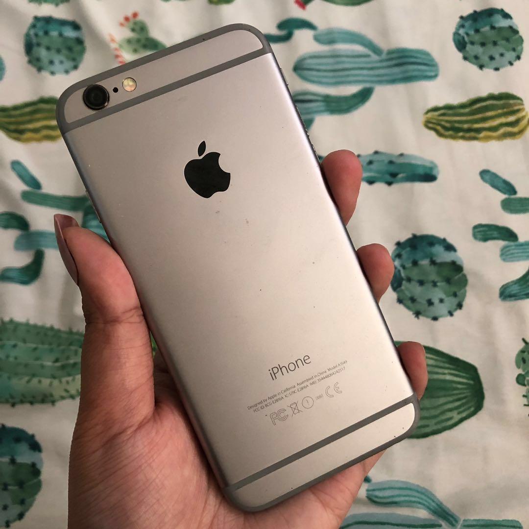 iPhone 6 64GB ex iBox (wifi only, NO SIM)  #BAPAU
