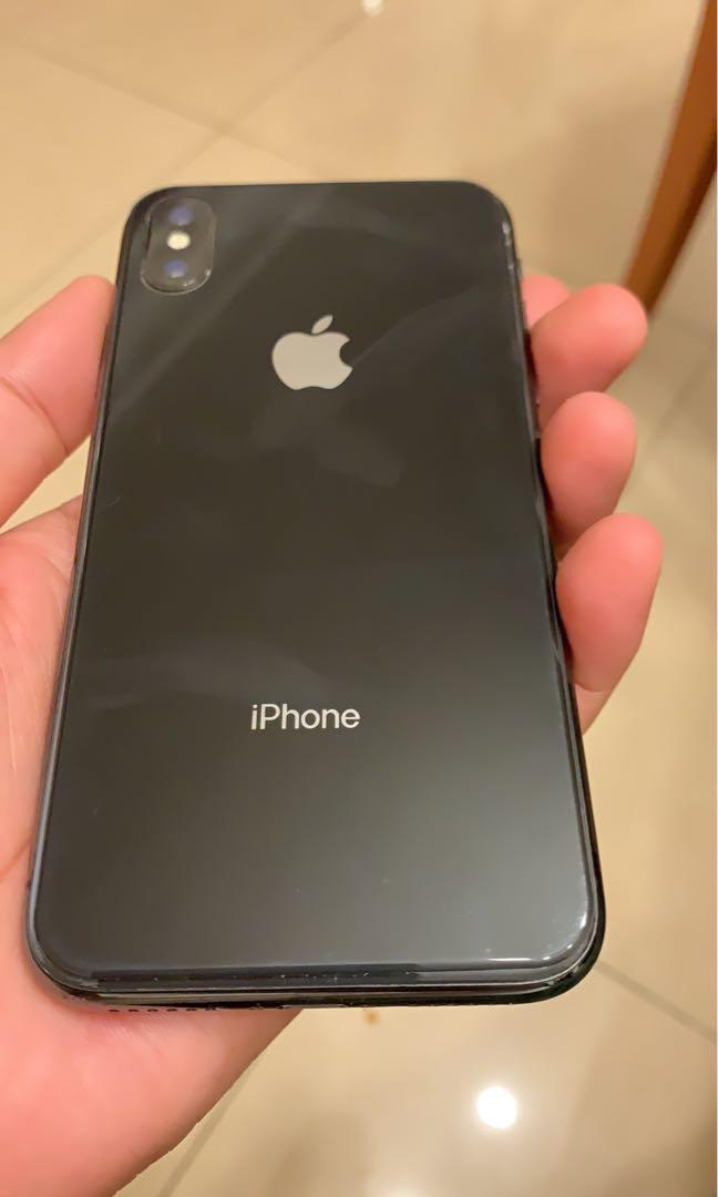 iPhone X black 256 GB