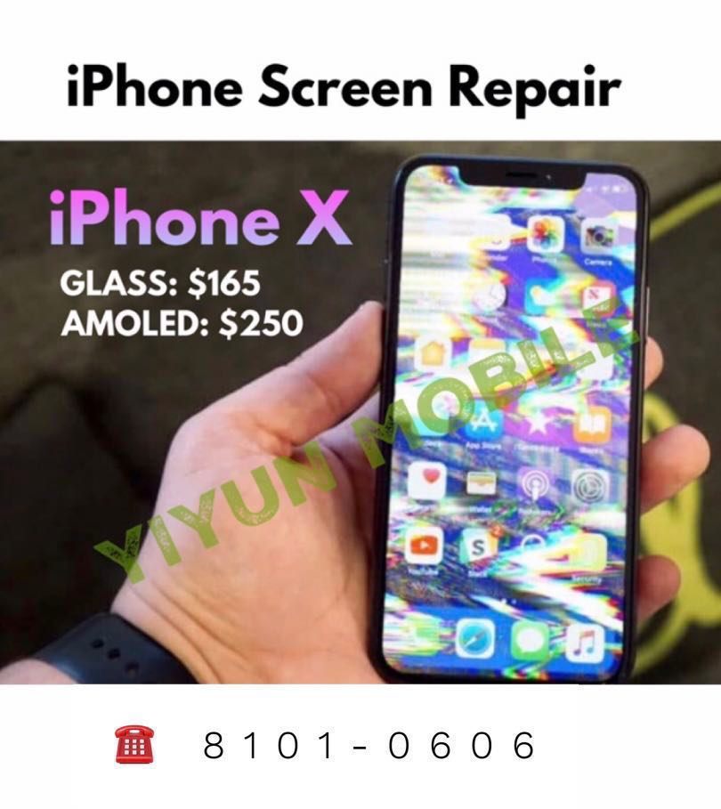 How To Fix Lcd Screen On Iphone X How To Replace Iphone X