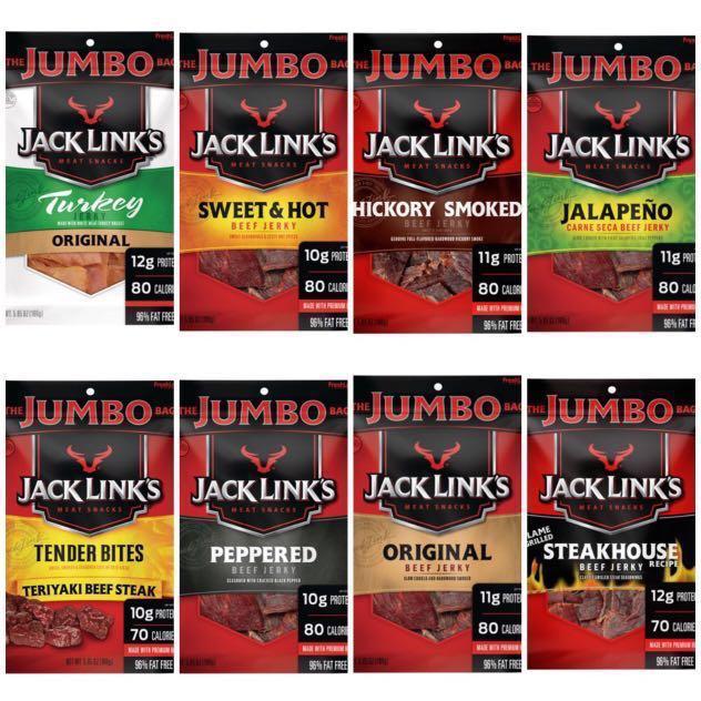 Jack Links Beef Jerky   Jack Links Turkey Jerky   5 85oz