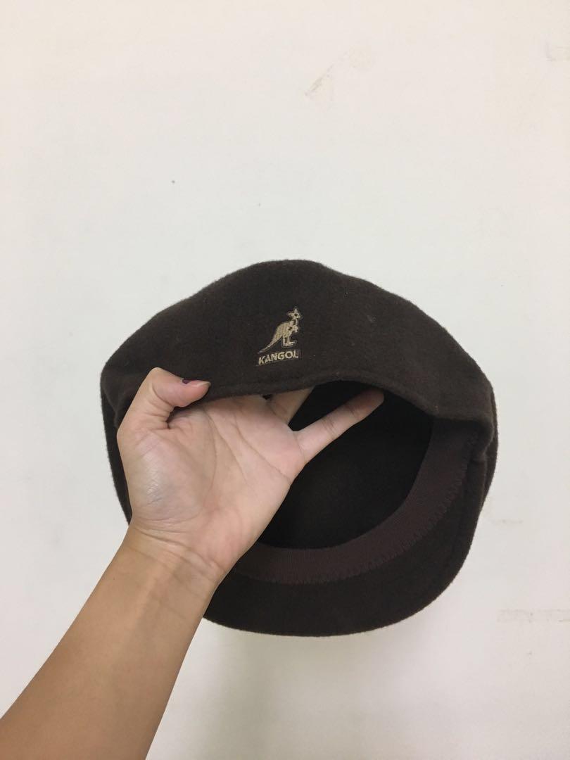 Kangol袋鼠短毛帽 可議價!!!