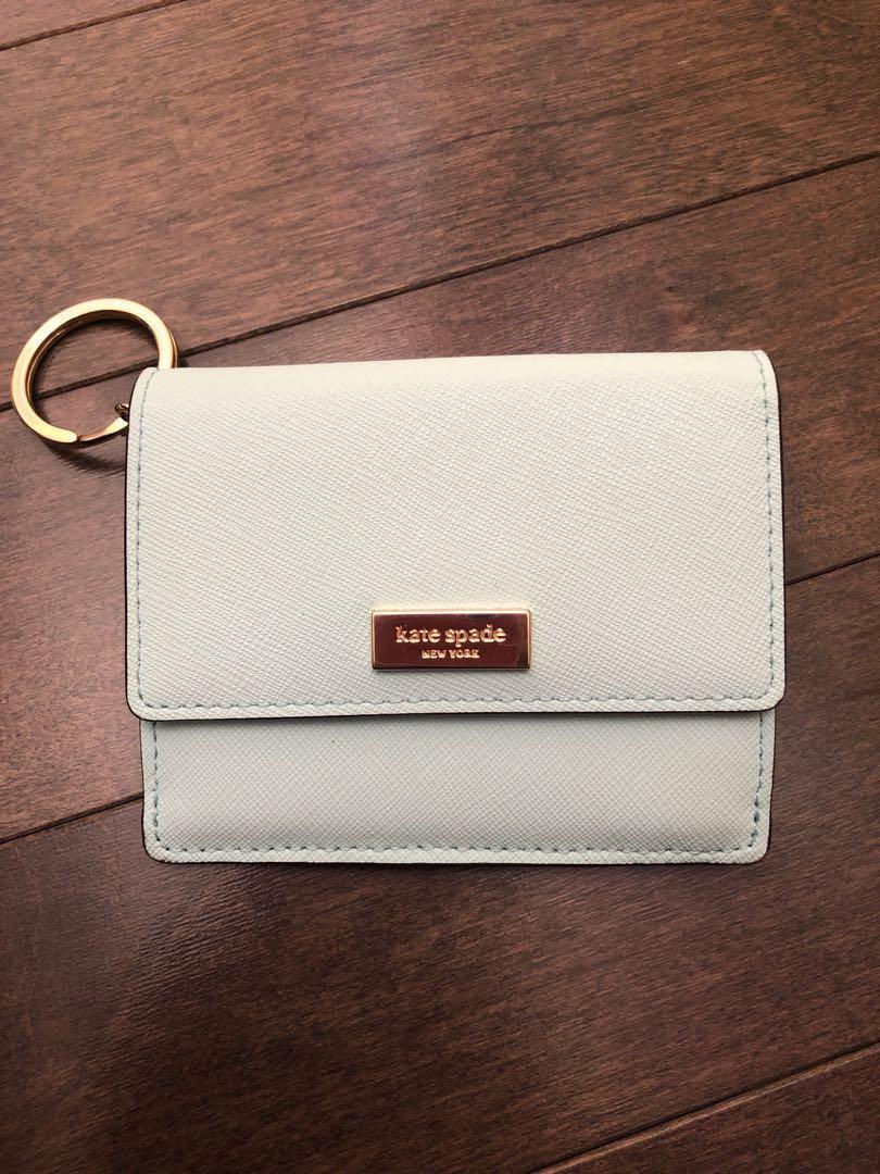 Kate Spade Wallet Tiffany Blue ( LIKE NEW)