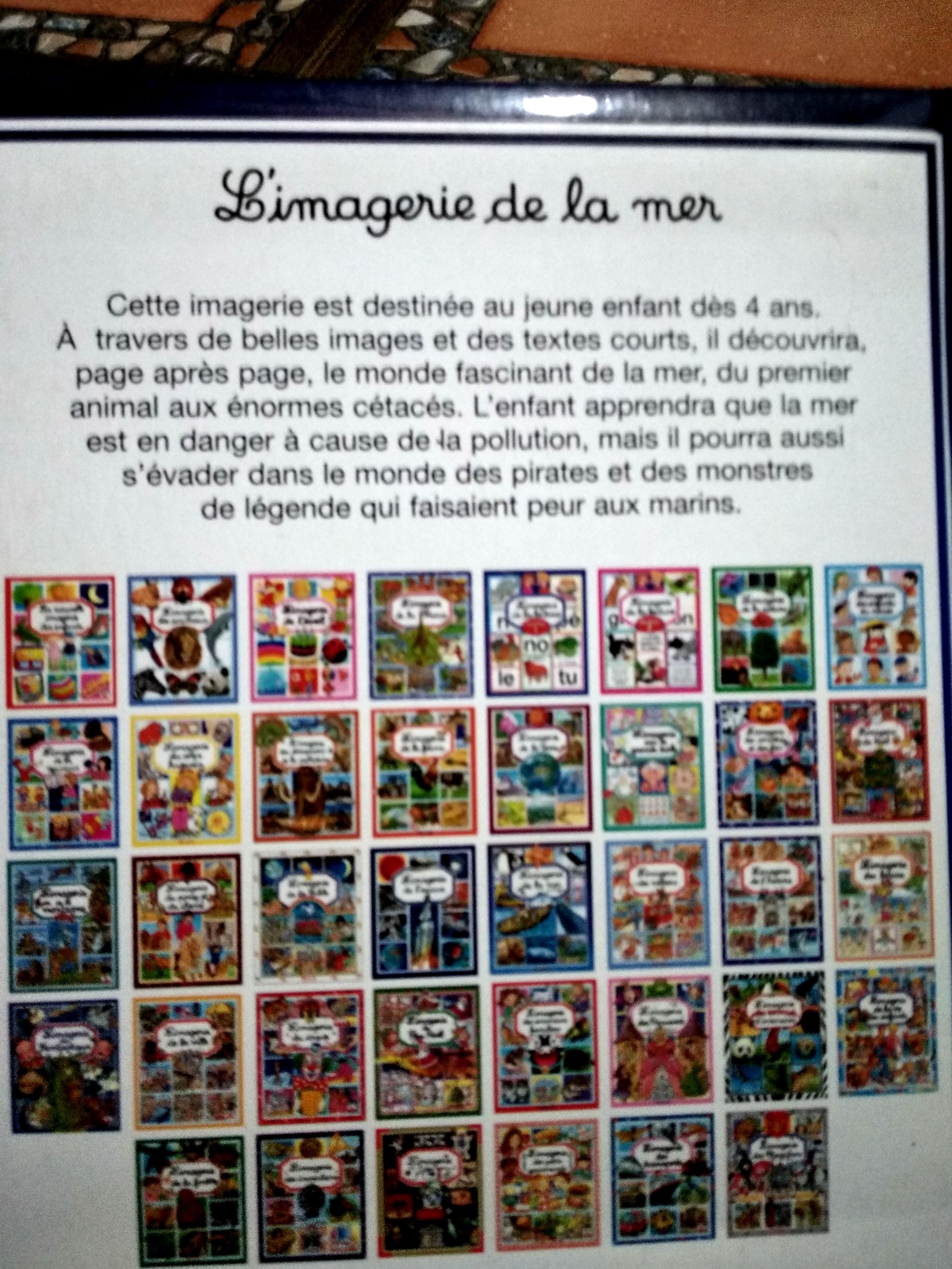 L'imagerie de la mer, (tentang laut), #mauthr Buku Anak, Bhs. Perancis