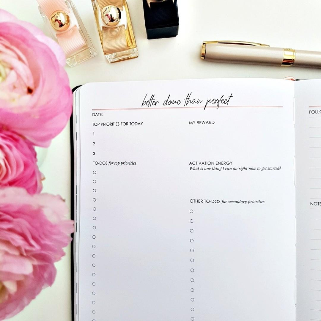 Make It Happen Daily Planner