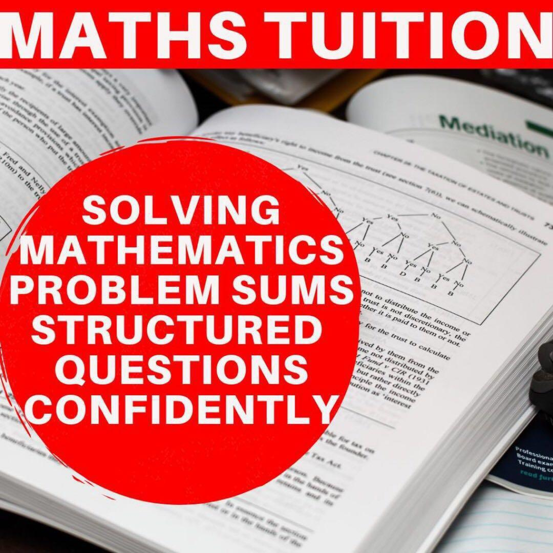 Maths Home Tuition | Primary Secondary JC Maths Tuition  | AEIS PSLE N O A level Diploma Degree Uni Tutor | JC1 JC2 H1 H2 IB IP Maths | MOE School Tuition Teacher | Maths Tuition P1 P2 P3 P4 P5 | Maths Tutor Secondary 1 to 1  | One To One  Private Tuition
