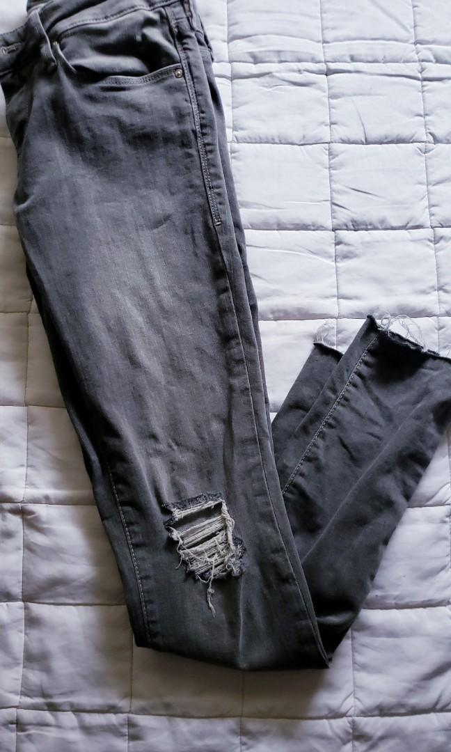MAVI Mid Rise Grey Jeans