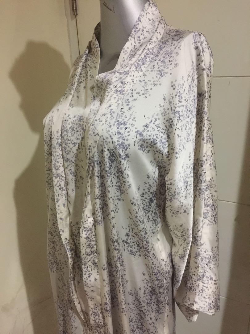 Maxi Dress Semi Kimono