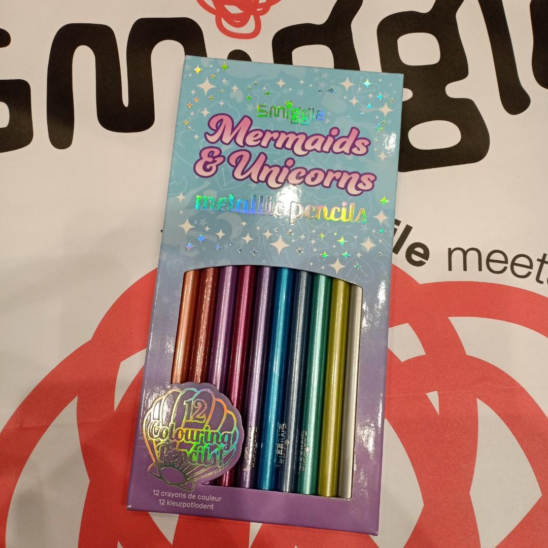 Metallic colour pencil