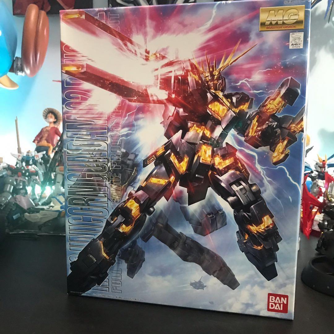 MG RX-0 Unicorn Gundam O2 Banshee 報喪女妖 1/100 高達模型 獨角獸
