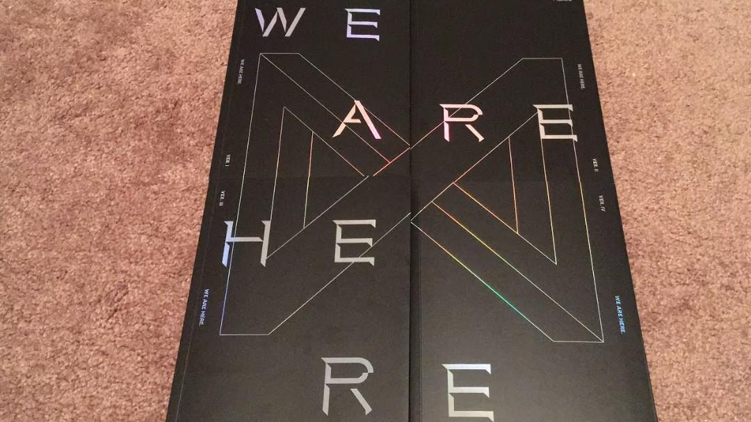 [RAMADHAN CLEARANCE READY STOCK] MONSTA X - WE ARE HERE (VER. 1)
