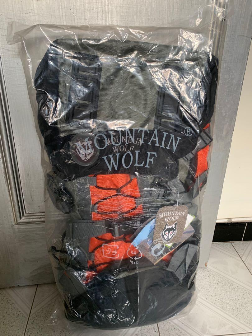 Mountain Wolf 55L CampBag 露營 背囊