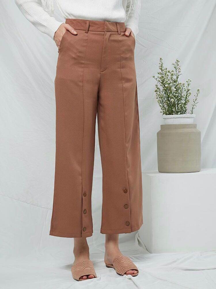 Berrybenka Brown Choco Pants
