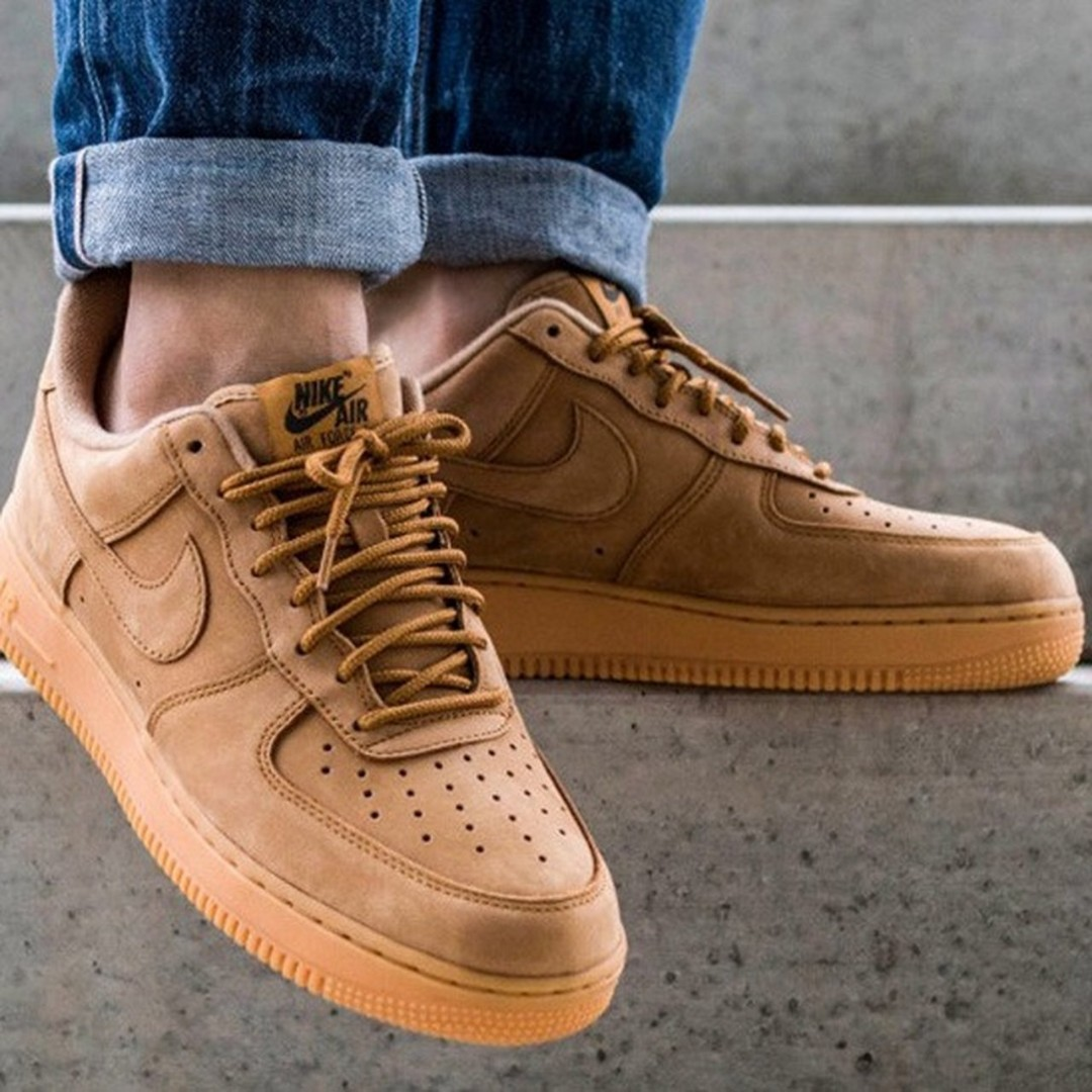 Discriminar Transparente Movimiento  Nike Air Force 1 low Flax/Wheat, Men's Fashion, Footwear, Sneakers on  Carousell