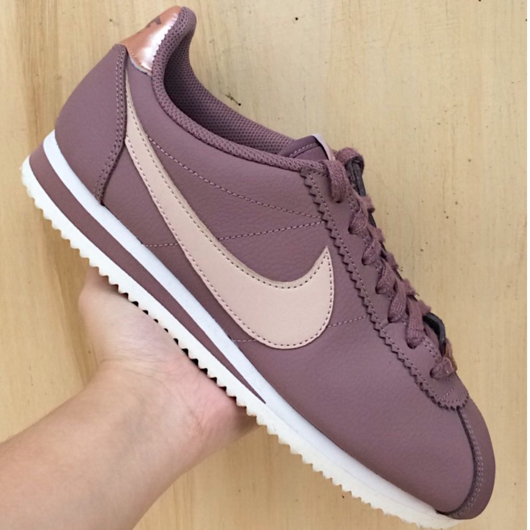 innovative design 57ba5 04065 Nike Cortez Leather (Smokey Mauve/Particle Beige)