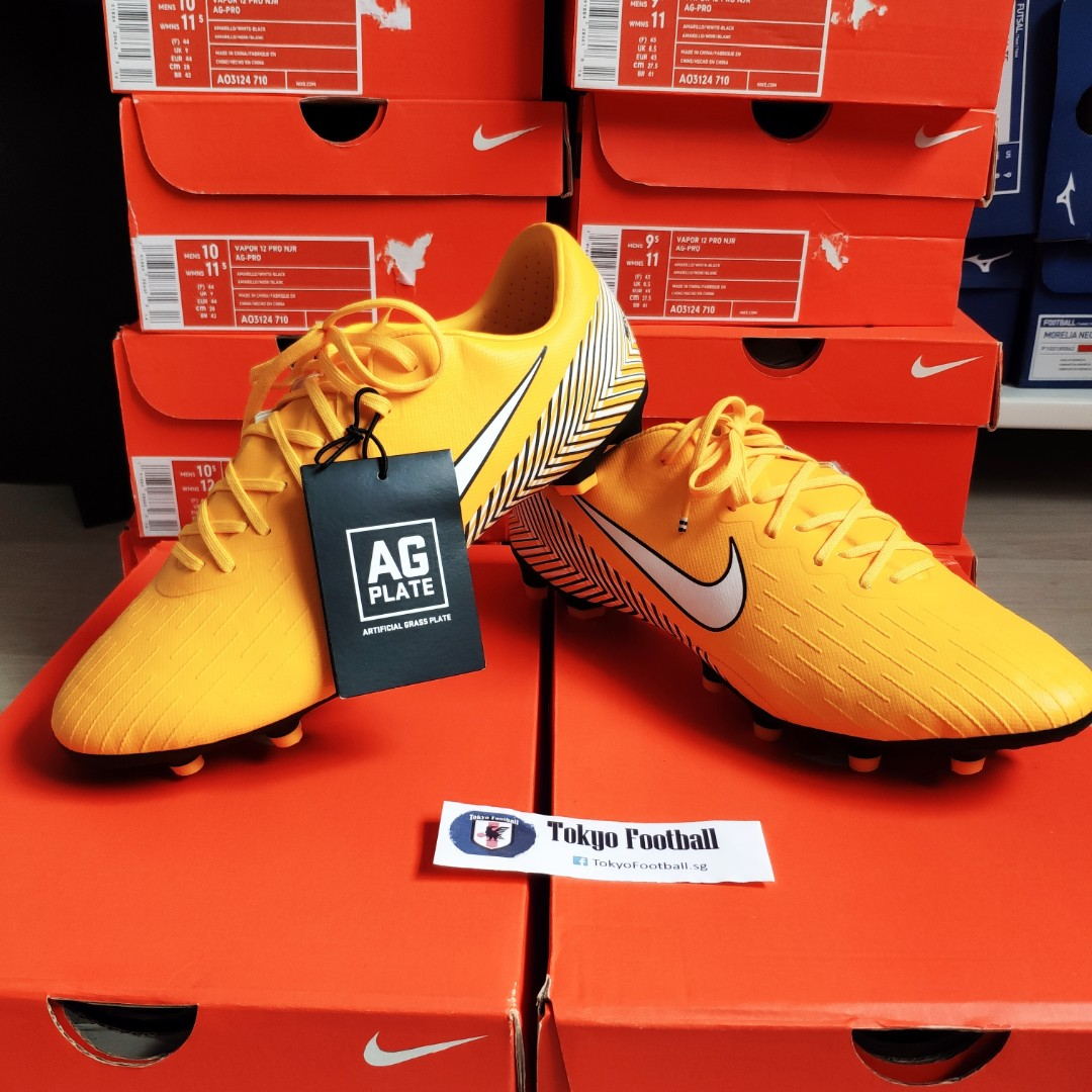 11f437c378b Nike mercurial vapor 12 xii pro Neymar njr AG soccer football boots shoes