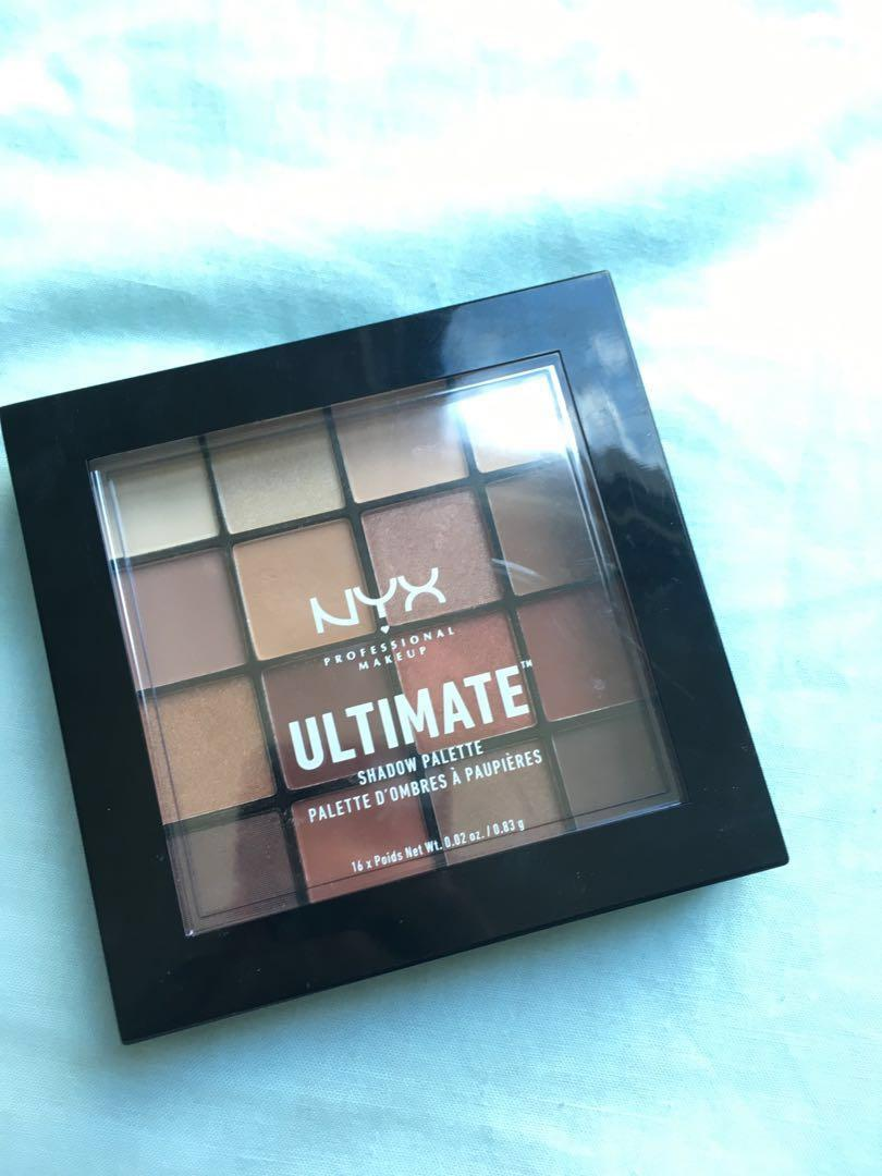 NYX Ultimate Palette in Warm Neutrals