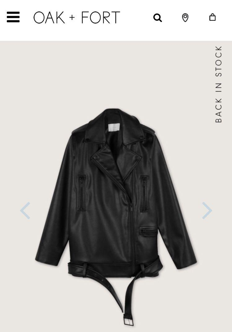 Oak and fort biker jacket