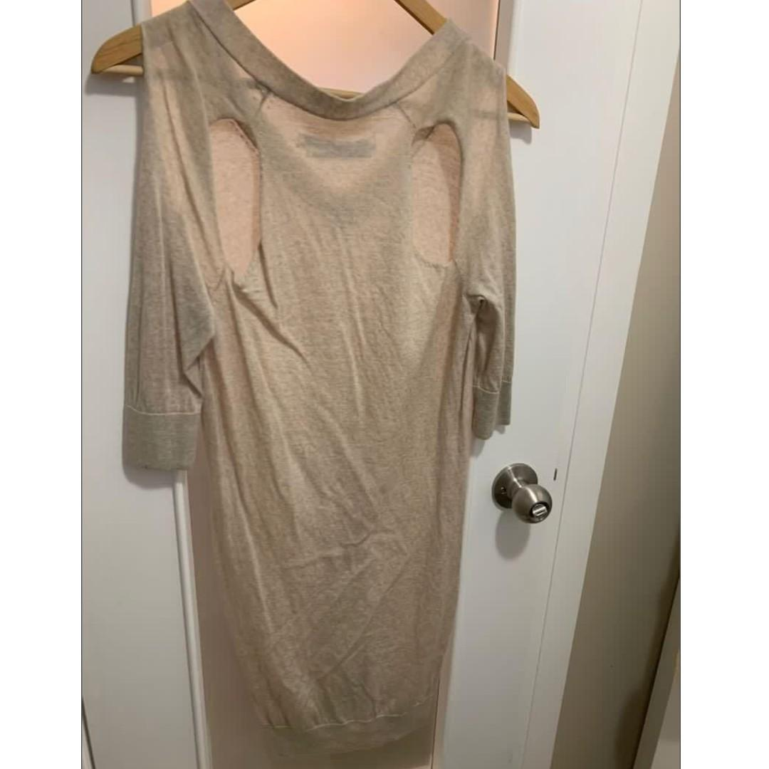 OATMEAL All Saints Kadarei Sweater Dress size US 4
