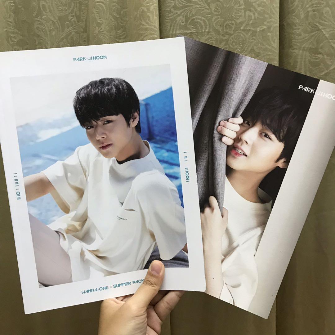 Park Jihoon Summer Package Book & Mini Poster #NUSentral