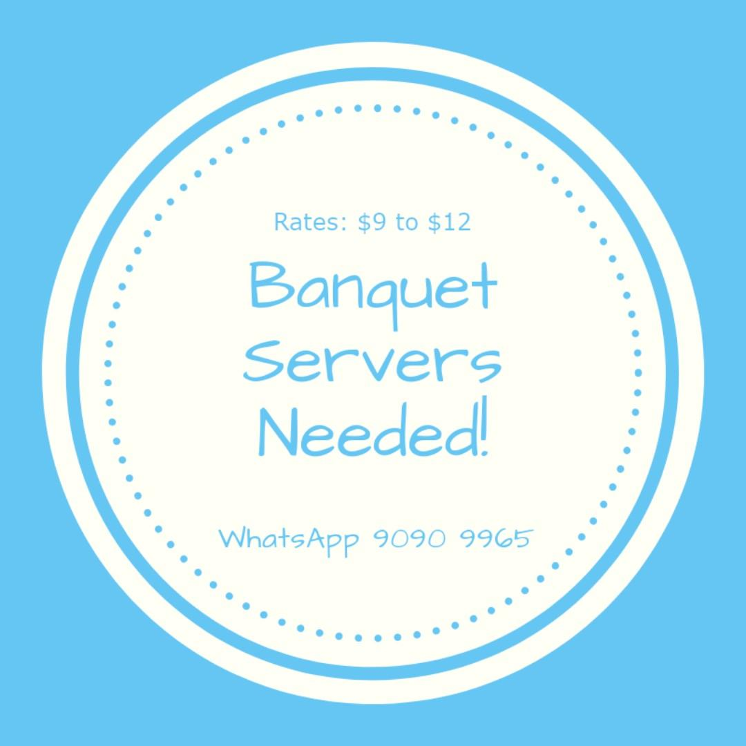 Part Time Server for Hotel Banquets