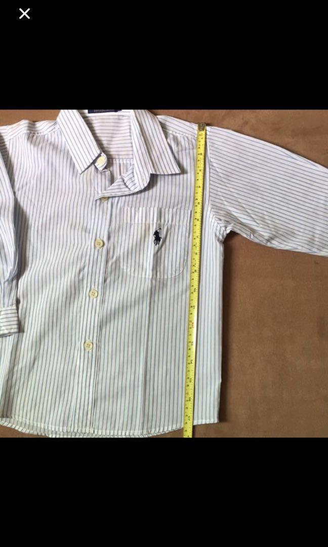 Polo Ralph kid's long sleeved shirt (Pre-owned)