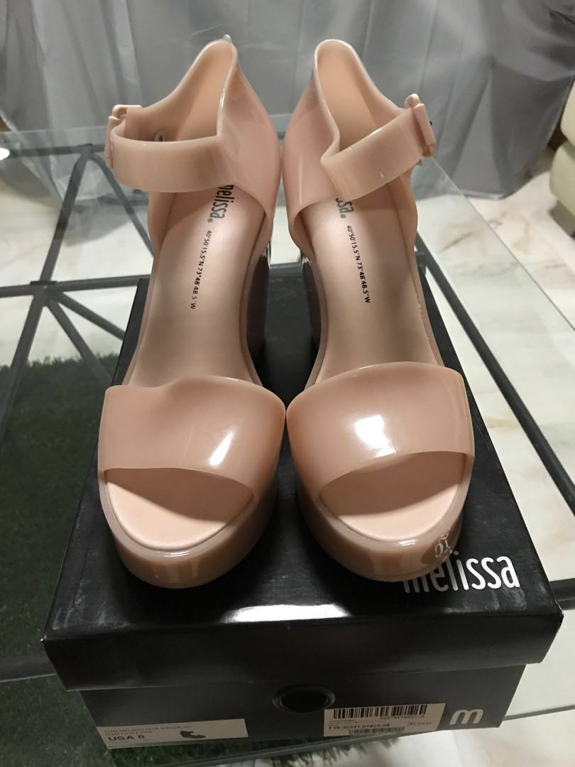 995322013 Pre-loved Melissa Shoes, Women's Fashion, Shoes, Heels on Carousell