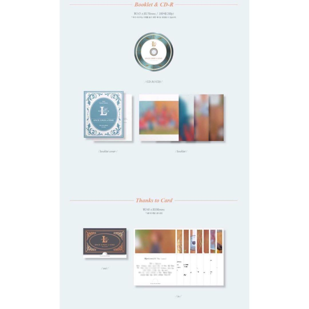 [PREORDER] LOVELYZ 6th Mini Album- ONCE UPON A TIME (Limited edition)