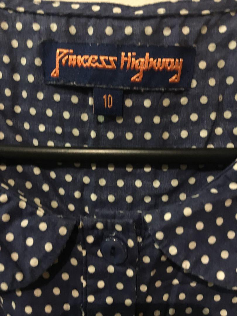 Princess highway peter pan collar vest with purple long sleeve knit jacket