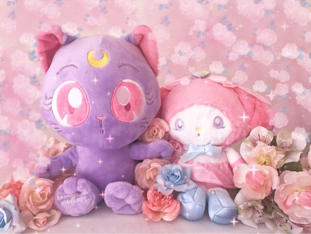 Sailor Moon X My Melody 25th Anniversary Plush Toy Set of 2pcs