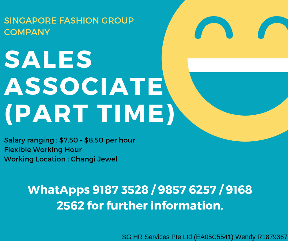 Sales Associate Fashion (Part-time)