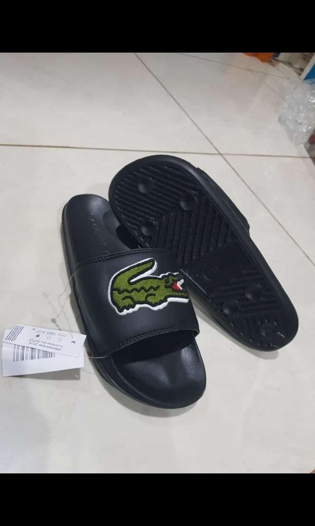 Sendal / Sandal Lacoste Original, Black, For Men, Brand New, Size 67,8,9,10 / 39,40,41,42,43,44