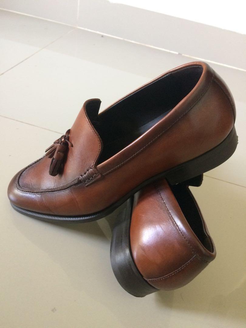 Sepatu Tassel Loafers Zara Original