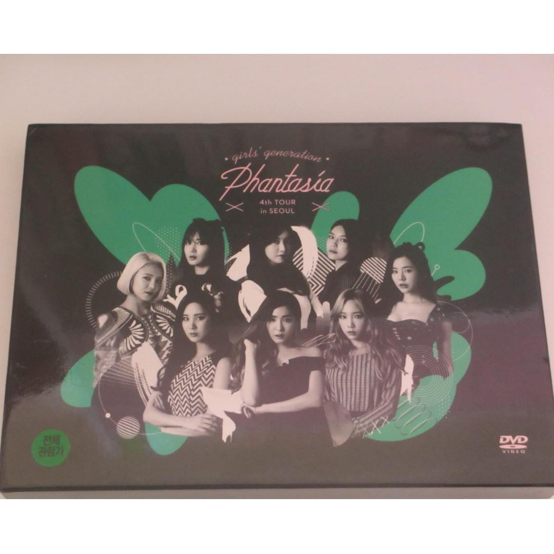 SNSD - 4th Tour Phantasia in Seoul DVD Concert Album