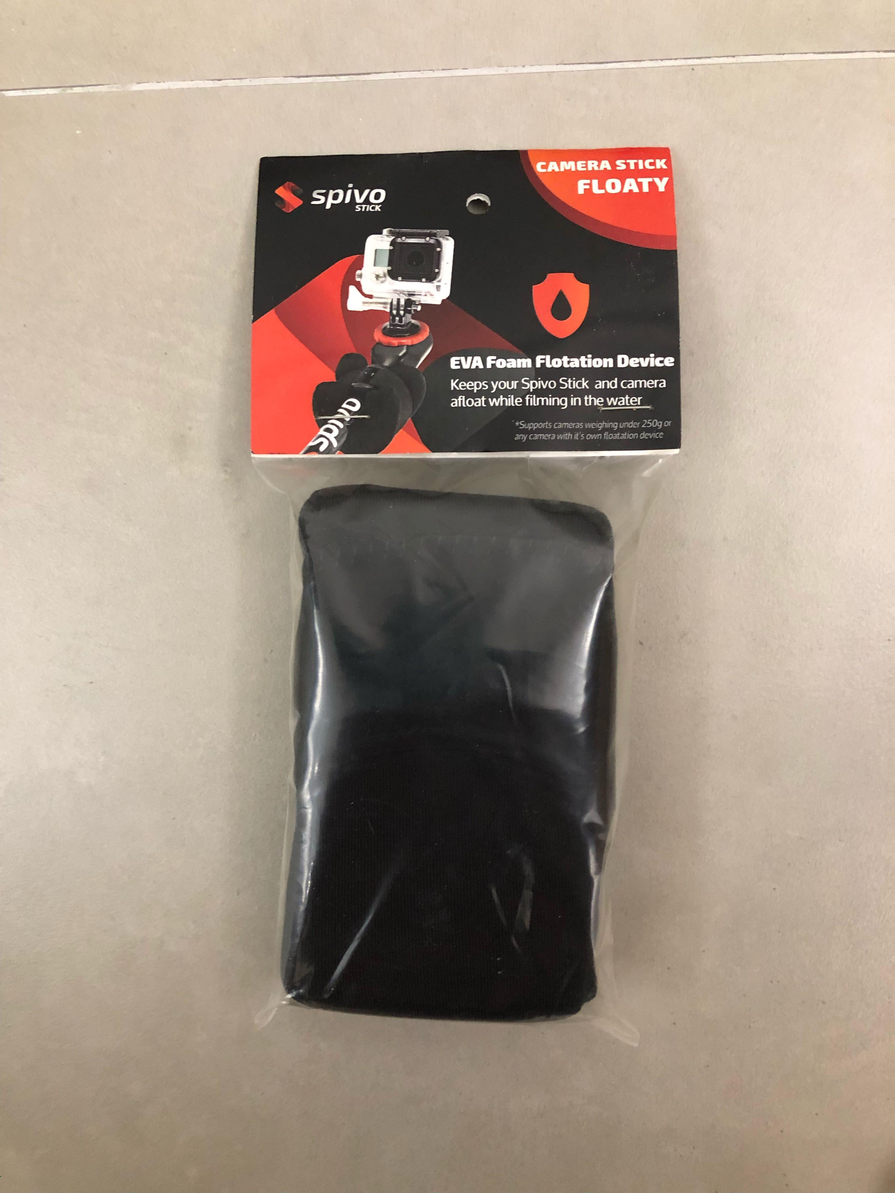 """Spivo 20"""" Rotating 360° Selfie Stick for GoPro Cameras, iPhones and others. GoPro Selfie 180- For Gopro hero 4,5,6 and 7"""
