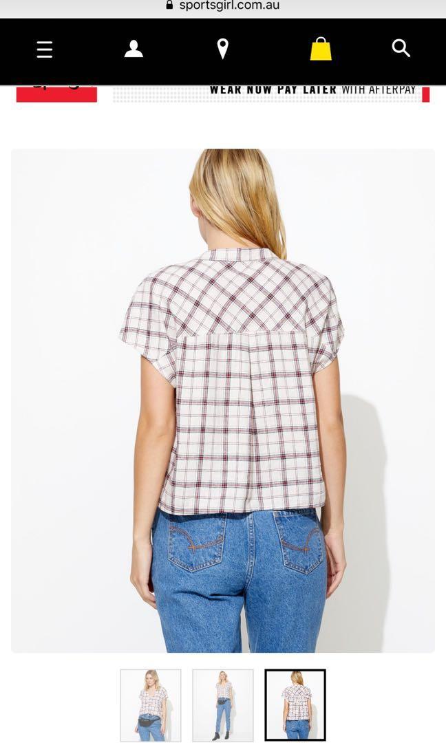 Sportsgirl linen top