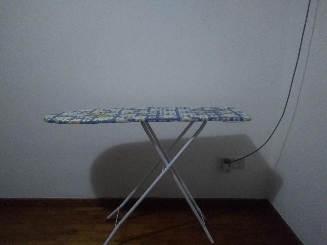 Standing Fan, Iron board & clothes dry stand