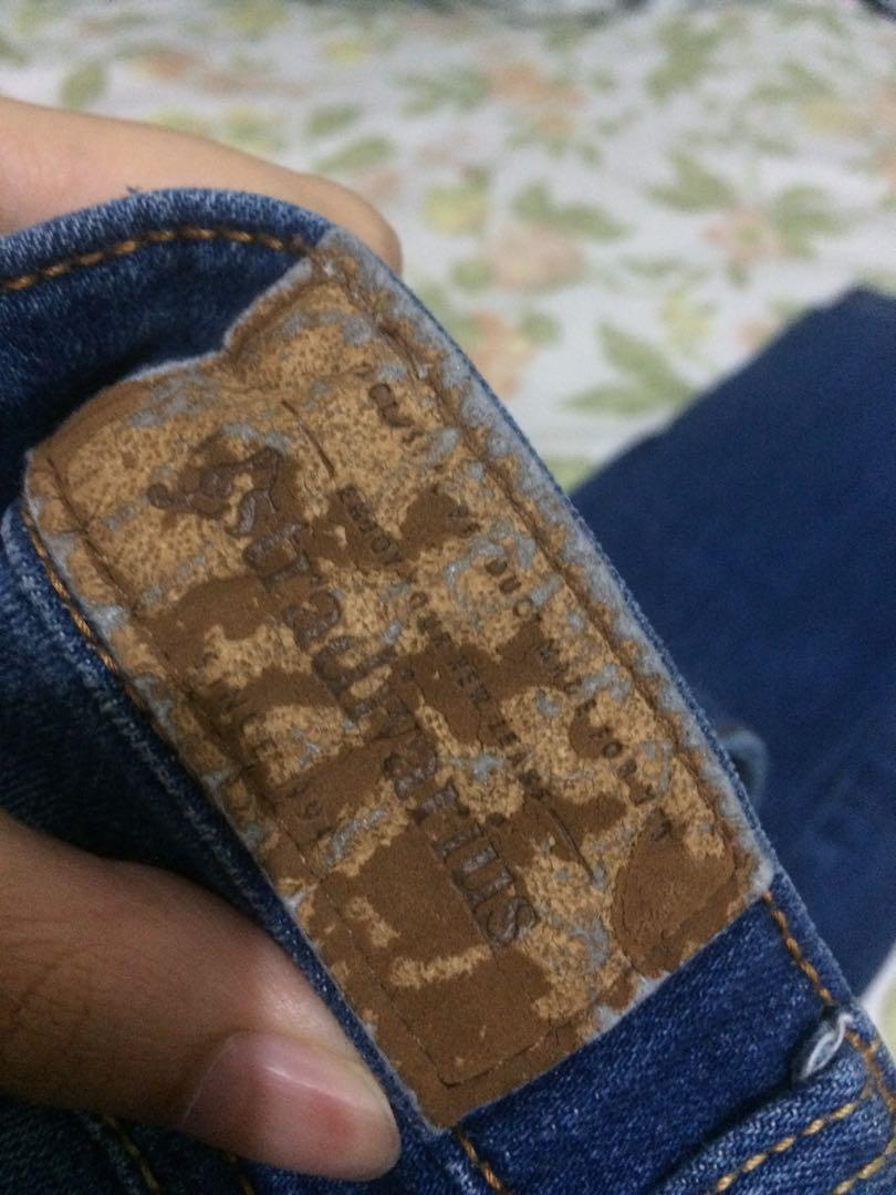 Stradivarius ripped skinny jeans