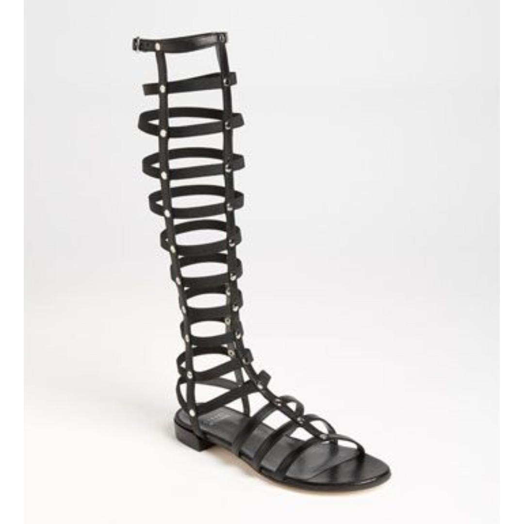 Stuart Weitzman Gladiator Sandals Size 37 7