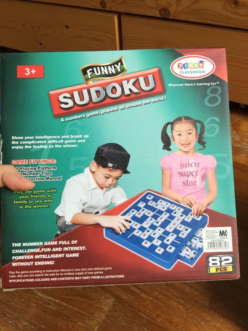 Sudoku toy