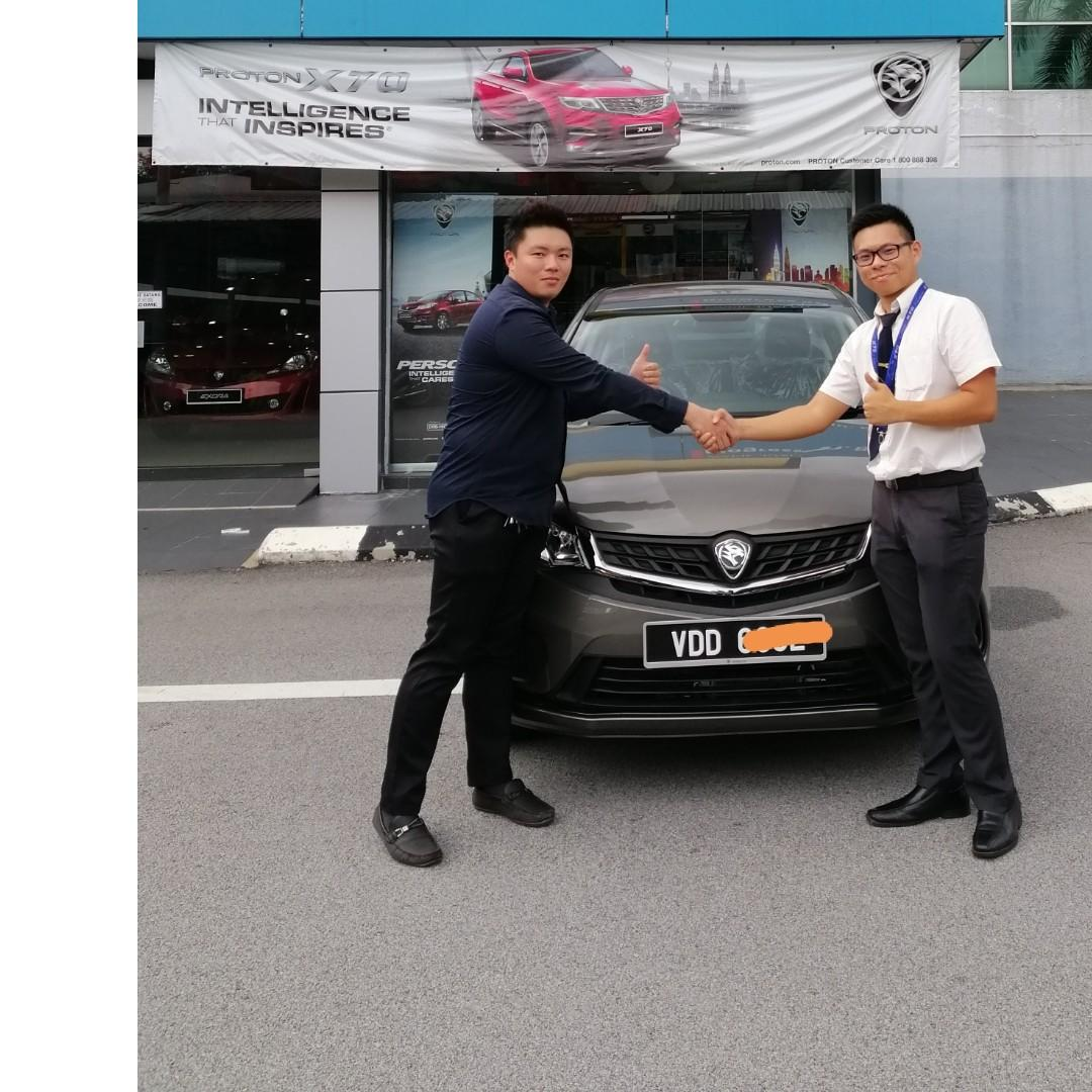 Thanks my customer support me selling Proton,Perodua,Mazda Cars