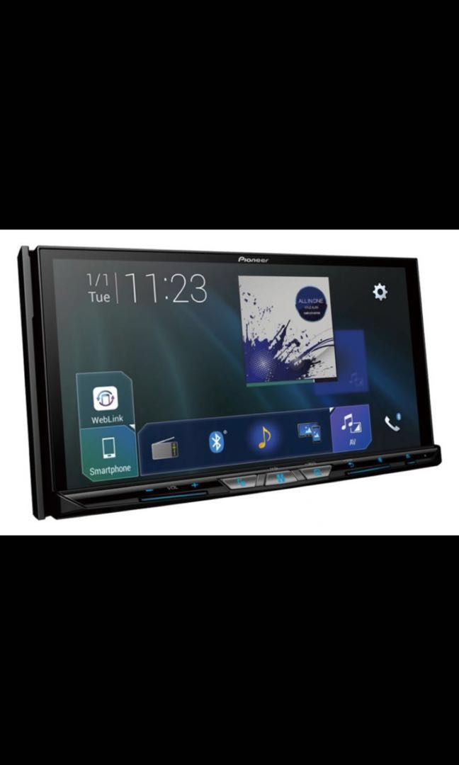 The Pioneer Avh Z9250bt Touchscreen Display Bluetooth And Usb Apple