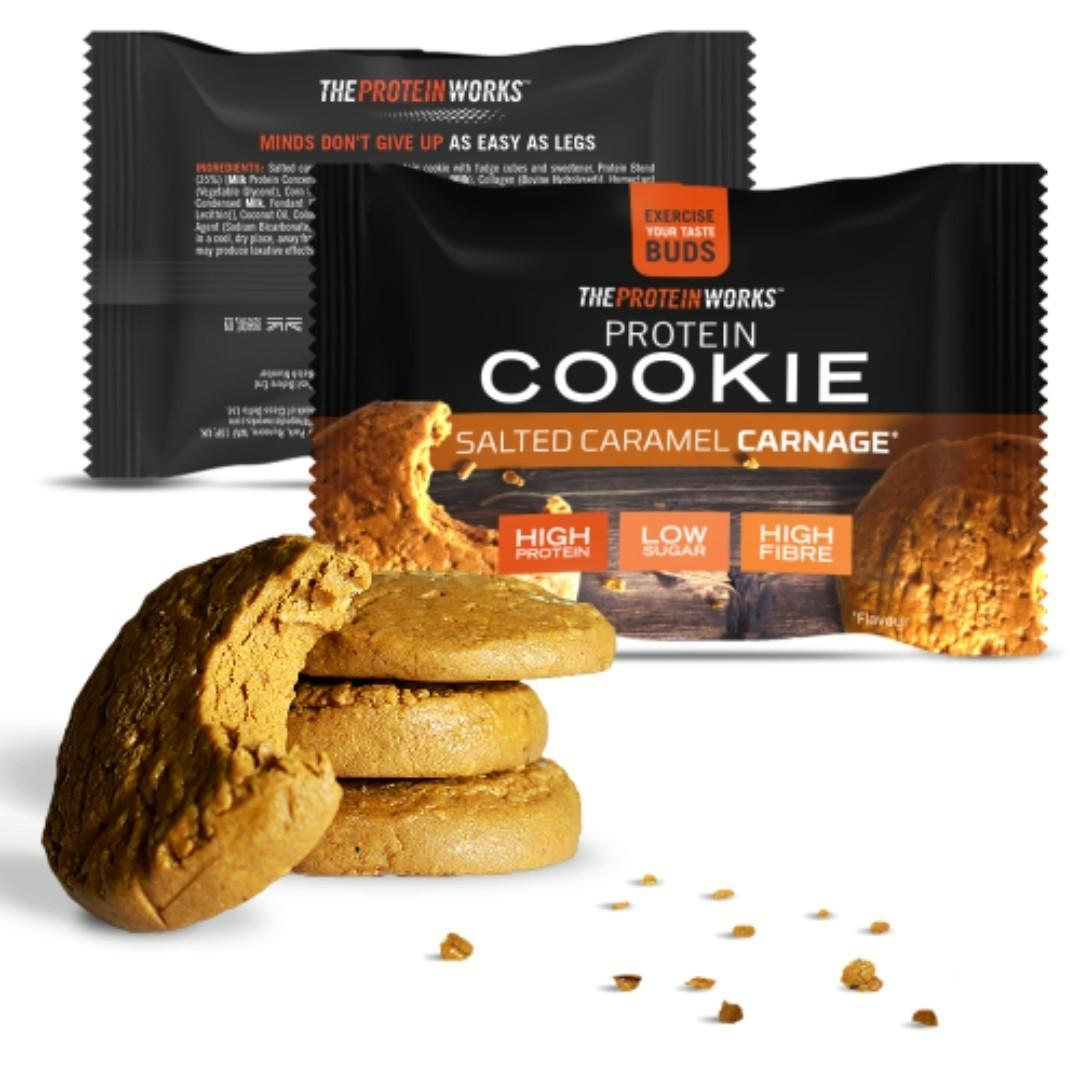 The Protein Works™ – PROTEIN COOKIES 盒裝曲奇