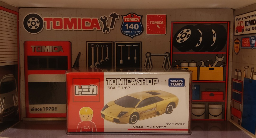 Tomica Shop 金色 Lamborghini Murcielago