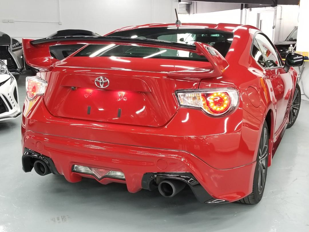 TOYOTA FT86 GT  2012