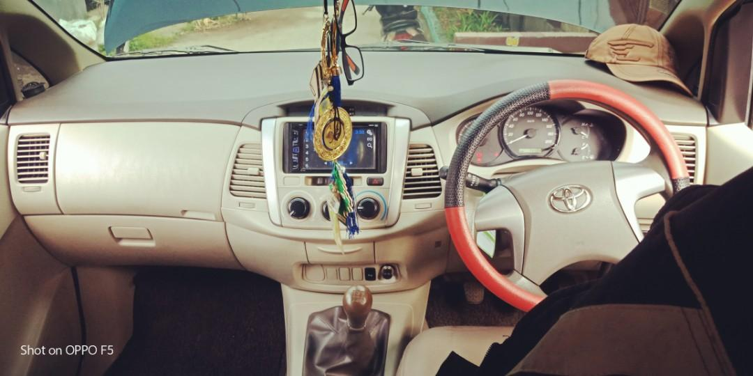 Toyota Innova Diesel Manual G th 2012