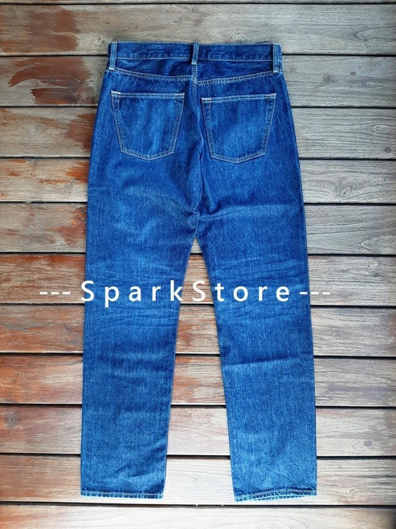 Uniqlo Celana Jeans Regular Fit Biru